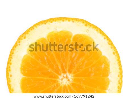 Orange fruit close up. Macro. Whole background. - stock photo