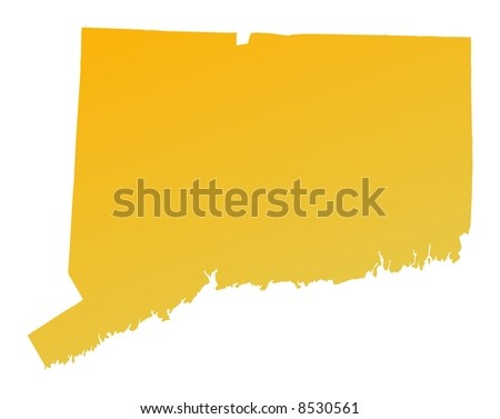Connecticut Boundary Stock Images RoyaltyFree Images Vectors - Connecticut on map of usa