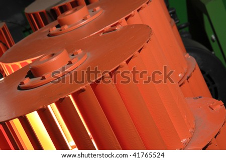 Orange impellers