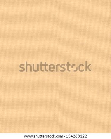 Orange linen texture background - stock photo