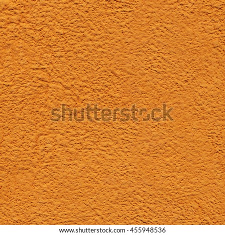Orange paper background with pattern - stock photo