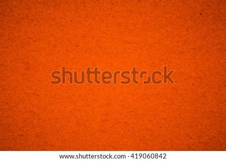 Orange paper texture - stock photo