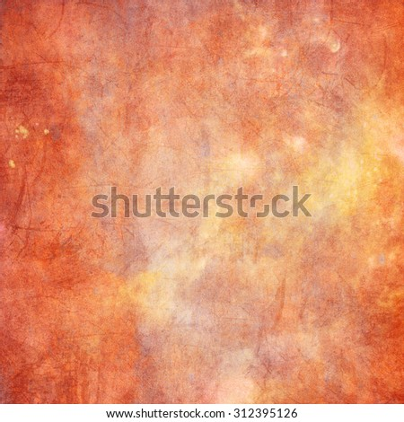 Orange, red abstract watercolor macro texture background
