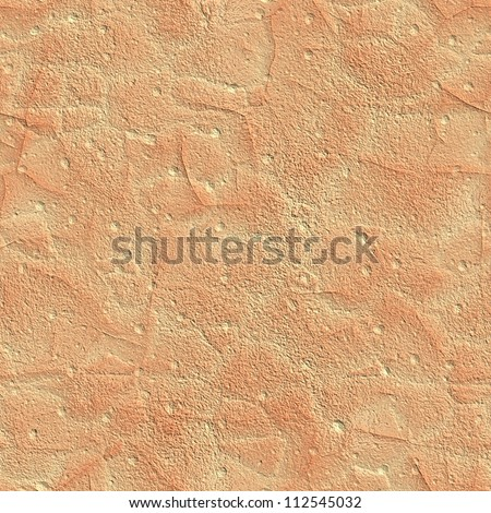 Orange sandstone seamless background - stock photo