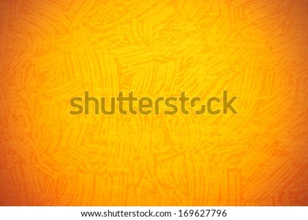 orange seamless abstract background or texture - stock photo