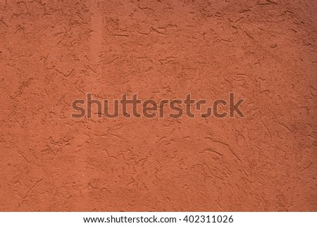 orange stone wall - stock photo
