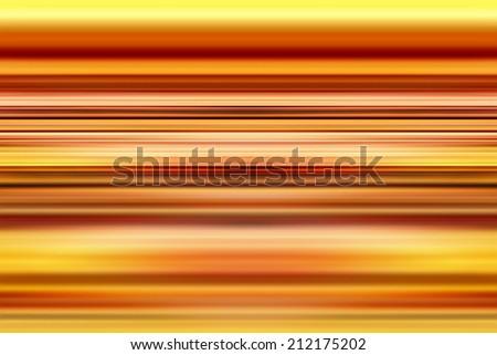 Orange stripes background with selective focus - stock photo