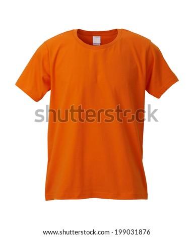 Orange T-Shirt  - stock photo