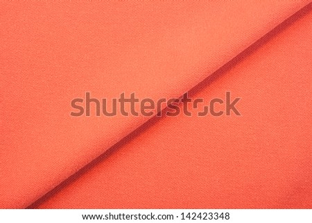 orange textile fabric background texture or pattern of clothing