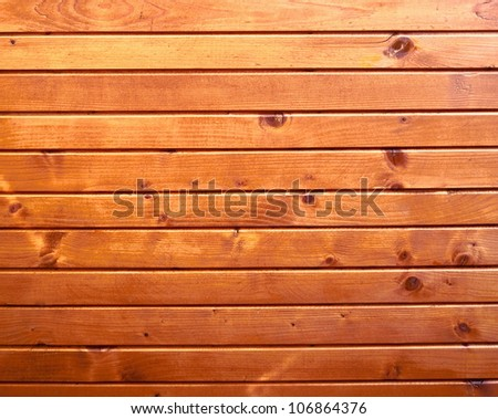 orange wooden plate texture - stock photo