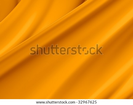 Orange yellow abstract paint toss liquid splash background illustration. - stock photo