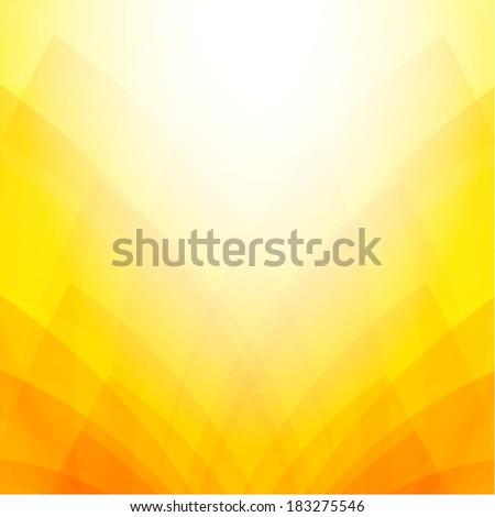 Orange & yellow background soft tones background - stock photo