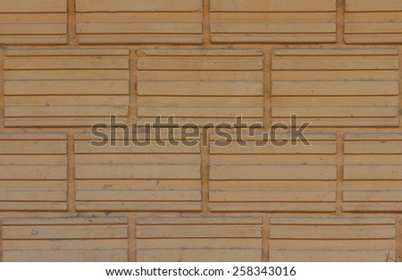 Orange-yellow  bricks background