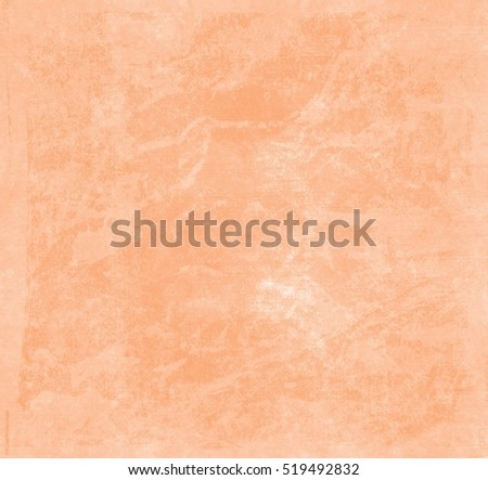 Orange yellow dirty grunge background with dark edges