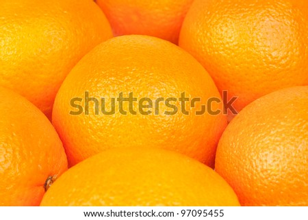 Oranges fruits  background.