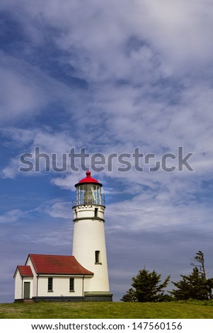 Oregon's Cape Blanco Lighthouse.