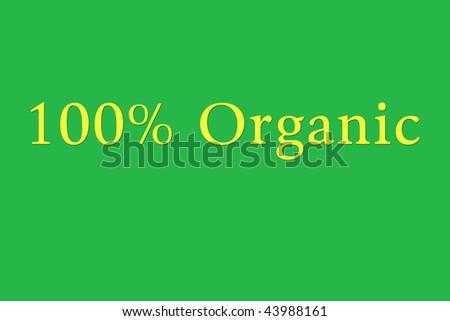 organic - stock photo