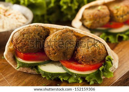 Falafel Sandwich Stock Photos, Images, & Pictures | Shutterstock