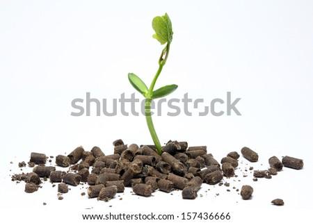 Organic fertilizer agriculture - stock photo