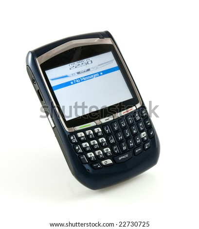 Organizer phone without messages - stock photo