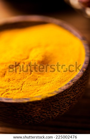 Oriental theme with Asian seasoning - stock photo