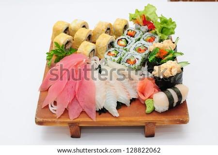 ORIGATO the Beater to Cana, poppies, the Land , a spice to Cana, Sashimi, will amaze - stock photo