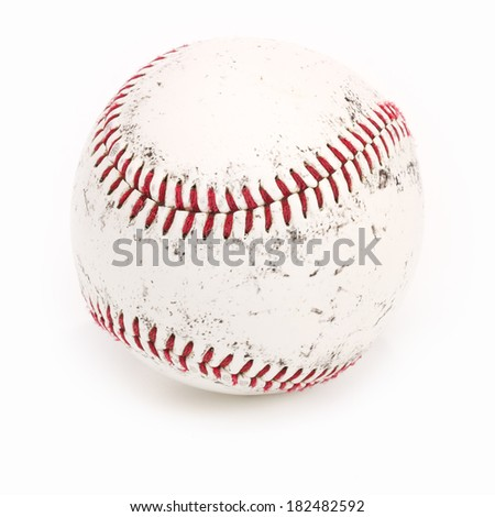 Original Baseball, with Clipping Path - stock photo