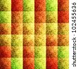 Original multicolored squared textured background (raster illustration) - stock photo