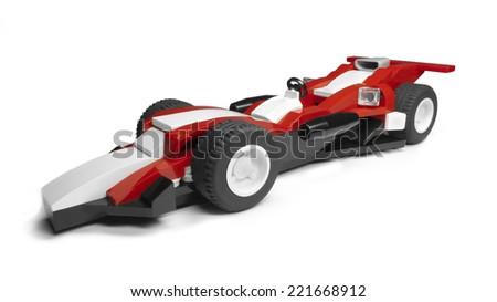 Original Race Car Design. - stock photo