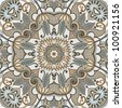 original retro paisley seamless pattern. Raster version - stock photo