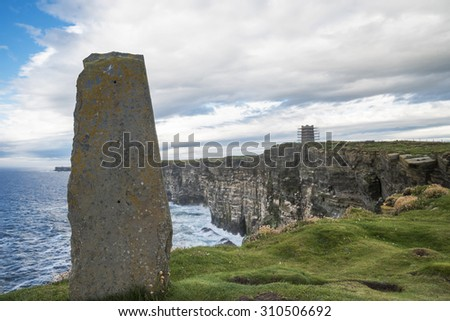 Orkney islands - stock photo