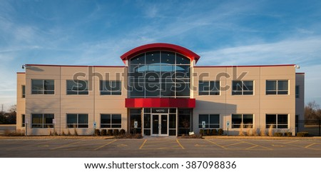 ORLAND PARK, ILLINOIS - MARCH 6: Richards Building Supply Company corporate campus on West 159th Street on March 6, 2016 in Homer Glen, Illinois - stock photo