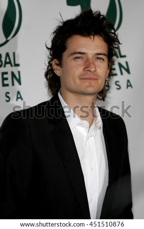Orlando Bloom at the Global Green USA Pre-Oscar Celebration to Benefit Global Warming held at the Avalon in Hollywood, USA on February 21, 2007.