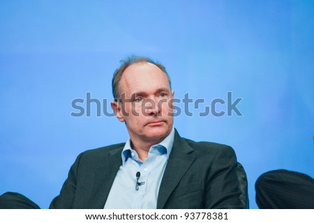 ORLANDO, FLORIDA - JANUARY 18: Inventor and founder of World Wide Web Sir Tim Berners-Lee delivers an address to IBM Lotusphere 2012 conference on January 18, 2012 in Orlando, Florida. He  speaks about social Web