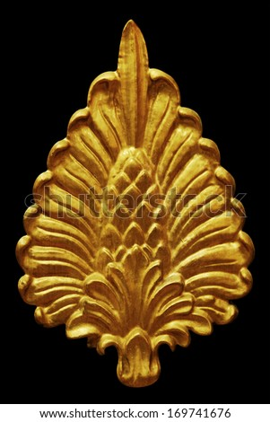 Ornament stucco vintage floral ,victorian Style - stock photo