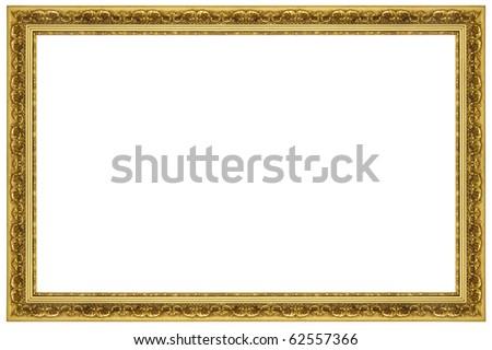 Ornate Gold Frame Border