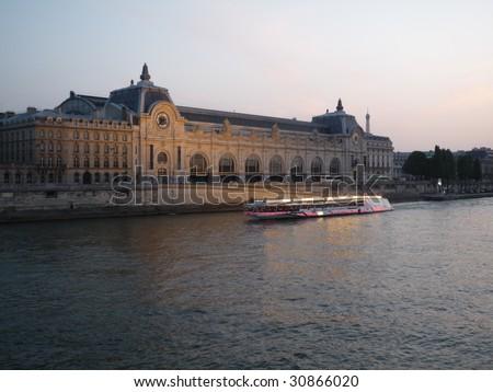 Orsay museum - stock photo