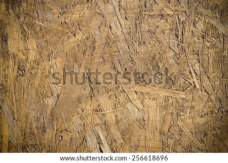 OSB Chipboard textured background - stock photo