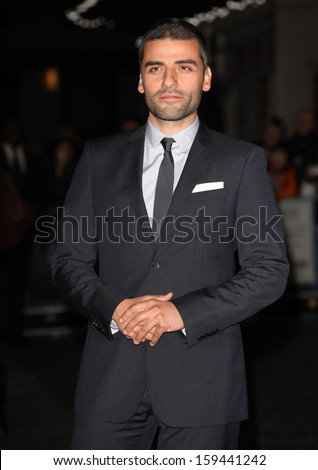 Oscar Isaac arriving for the Inside Llewyn Davis Premiere, at Odeon Leicester Square, London. 15/10/2013