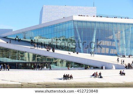 Oslo Opera House Is The Home Of The Norwegian National Opera And Ballet,  And The