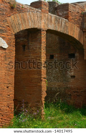 Ostia C the harbor city of ancient Rome