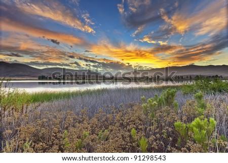 Otay Ranch Sunrise - stock photo