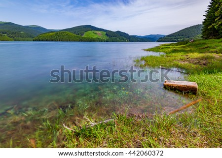 Otter's lake, Central Romania, Europe