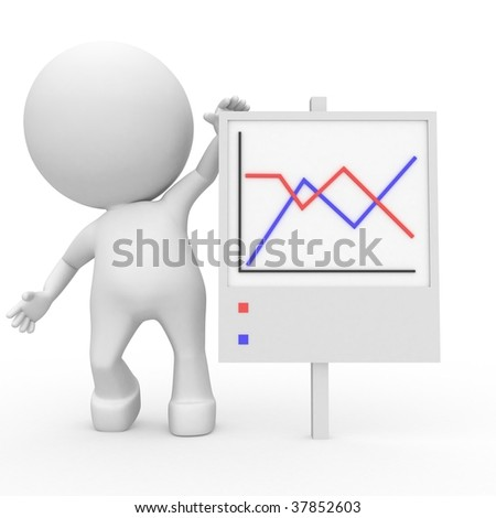 Our annual statistics - stock photo