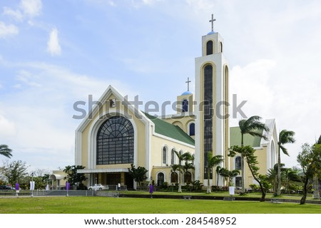 Our Lady of Penafrancia Church, Southern Luzon, Philippines