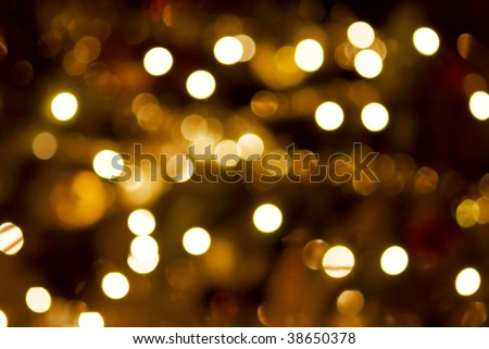 Out of focus light spots forming a soft background - stock photo