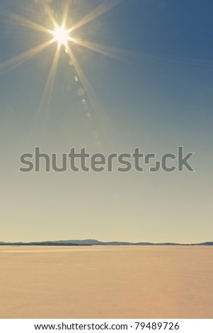 Outback Landscape - stock photo