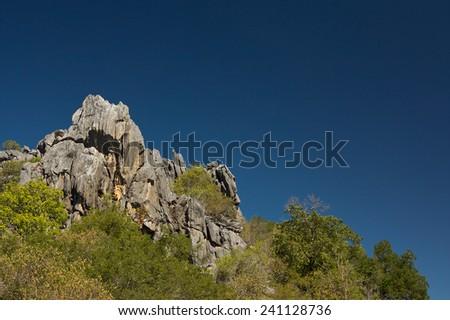 Outback scenery near Chillagoe, Queensland, Australia - stock photo