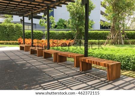 Outdoor Nature Wooden Bench Zen Garden Stock Photo (Royalty Free) 462372115    Shutterstock