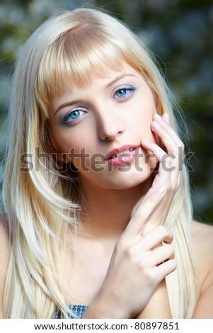 Pink girls blue eyed blonde girls photos ann